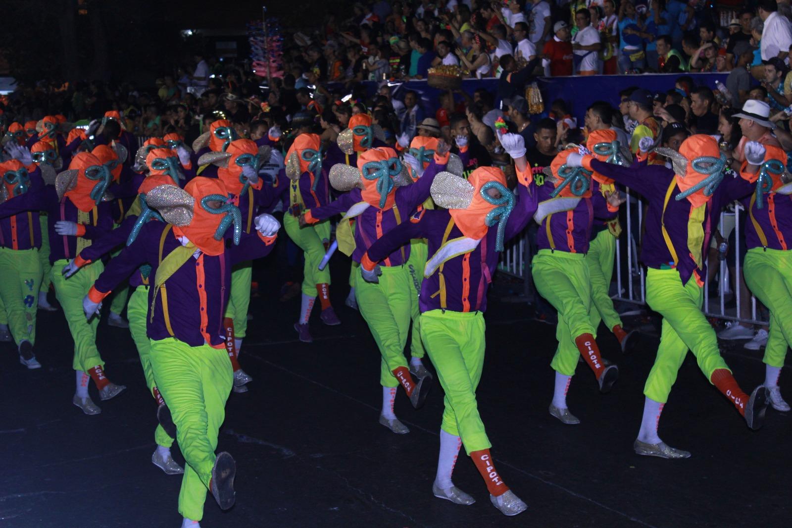 Marimondas del Carnaval /Foto Farfrey Fashion