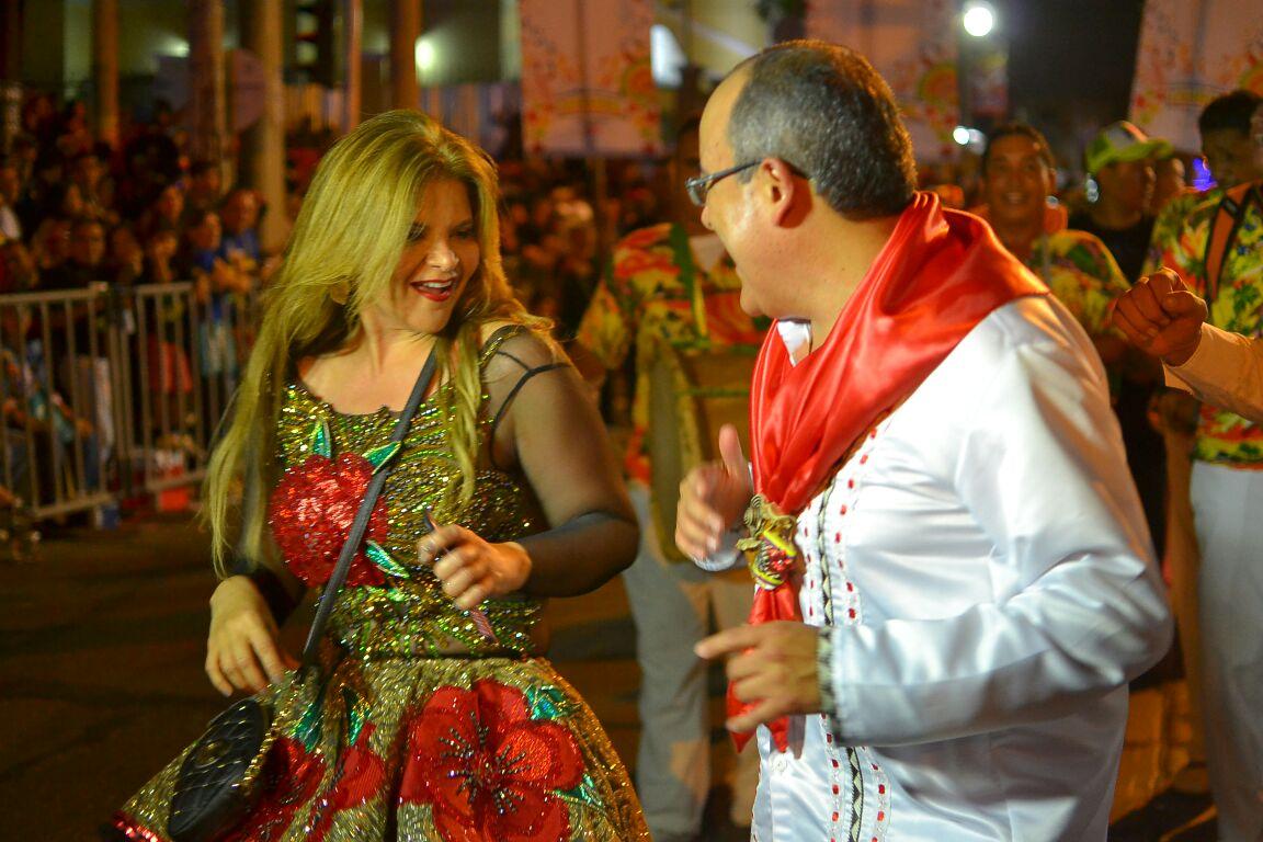 Diva Jessurum y Ricardo Orrego- Caracol TV  / Foto Jorge Luke