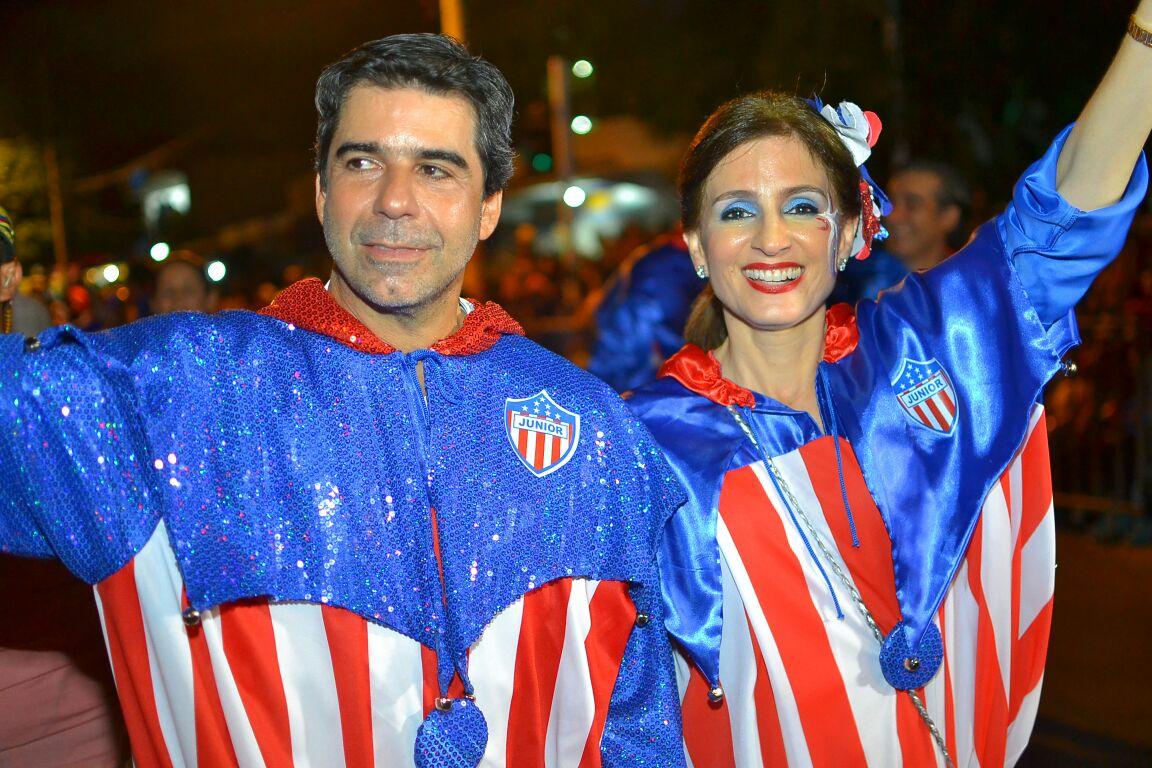 Alex Char y Katia Nule  / Foto Jorge Luke