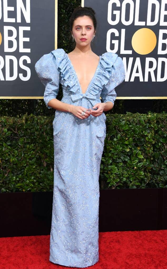bel-powley-2020-golden-globes-red-carpet-fashions