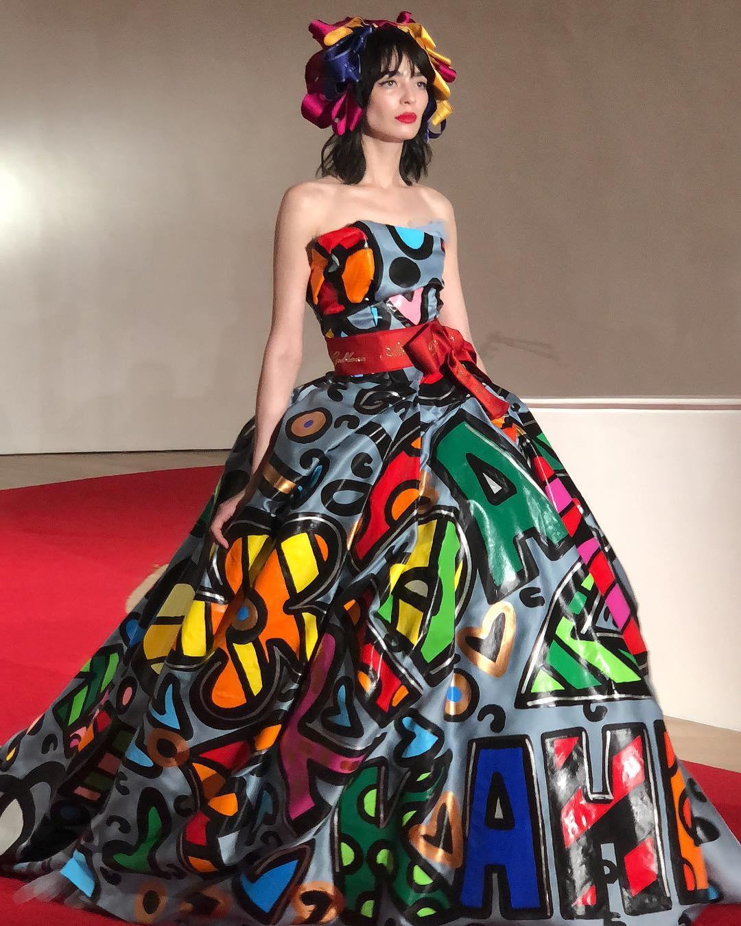 Vestido de Frida Kahlo por Dolce & Gabbana