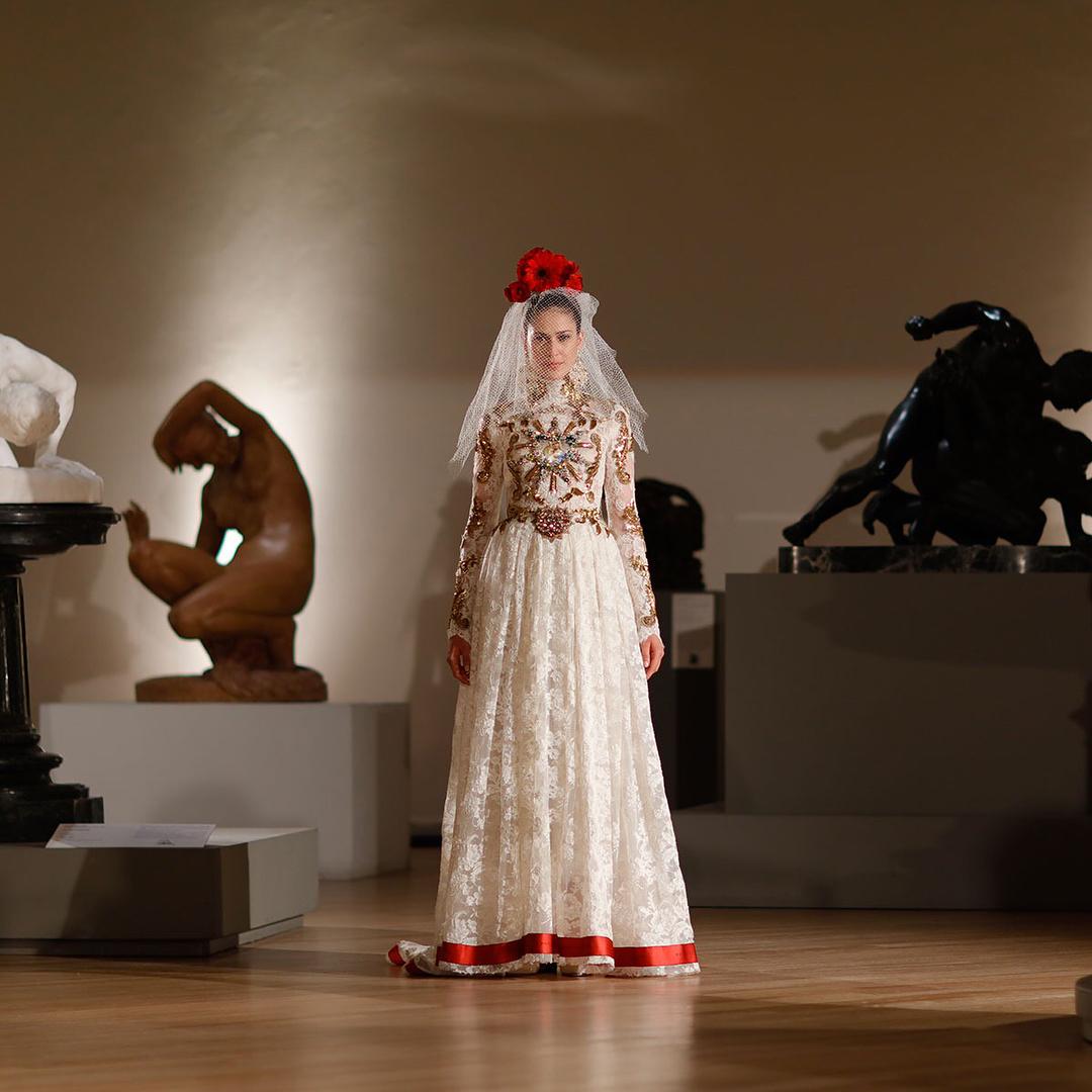Vestido de novia de Dolce & Gabbana
