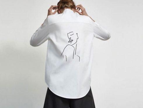 Camisa Blanca Leporino